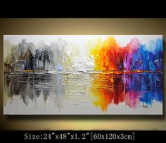 Paintings for office walls Teamwork Contemporary Wall Art Modern Textured By Xiangwuchen On Etsy Diy Canvas Art Abstract Canvas Pinterest 37 Best Abstract Wall Painting For Your Home Or Office Decor Images