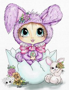 Sherri Baldy Digi Stamps You can adopt this beast :-) ****** Have fun crafting ****** This is only f Images D'art, Line Art Images, Besties, Big Eyes Artist, Scrapbooking Photo, Gothic Culture, Tampons Transparents, Eye Art, Copic