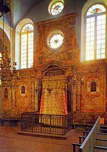 the oldest Synagogue in France, the Synagogue at Carpentras