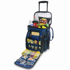 Picnic Time 45 Can Avalanche Rolling Picnic Cooler & Reviews | Wayfair