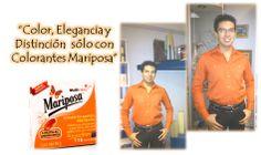 Colorante Mariposa Naranja.