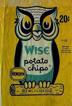 Wise potato chips  c. 1966