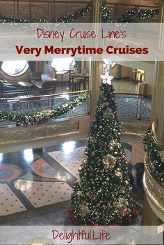 Disney Cruise Line's Very Merrytime Cruises (select sailings each November and December) are must-dos for any family that loves cruises or Christmas! The ships are all decked out, the activities are unparalleled, and you'll have one of the most magical va Disney Fantasy Cruise, Disney Cruise Tips, Best Cruise, Cruise Vacation, Disney Vacations, Disney Trips, Disney Travel, Vacation Ideas, Disney 2017