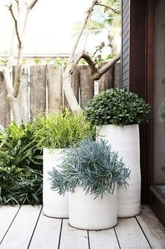 55 Ideas Front Patio Planters Outdoor Spaces For 2019