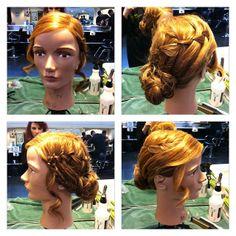 #Updo #hair by Stephanie Lynne.