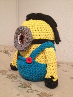 Mininos a crochet con trapillos