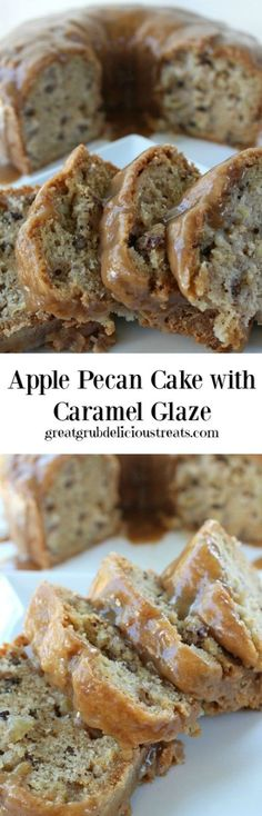 Apple Pecan Cake wit