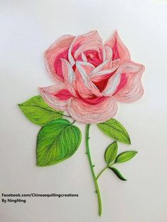 13 Paper Quilling Design Ideas That Will Stun Your Friends Neli Quilling, Ideas Quilling, Quilled Roses, Paper Quilling Cards, Paper Quilling Flowers, Paper Quilling Tutorial, Paper Quilling Patterns, Quilled Paper Art, Quilling Paper Craft
