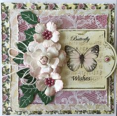 My Craft in Bloom: Butterfly Wishes