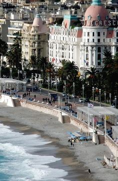 Promenade des Anglais, Nice, of my favorite places-France and the beach! Nice is perfect Places Around The World, Oh The Places You'll Go, Travel Around The World, Places To Travel, Places To Visit, Around The Worlds, Wonderful Places, Great Places, Beautiful Places