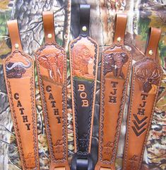 Custom Leather Rifle slings Hand Crafted By Lever Leather Rifle Sling, Custom Leather Holsters, Leather Tooling Patterns, Leather Pattern, Leather Jewelry, Leather Craft, Handmade Leather, Fringe Leather Jacket, Leather Carving