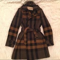 Hpburberry Wool Coat
