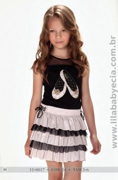 BLUSA C/SAIA Diforini Moda infanto Juvenil