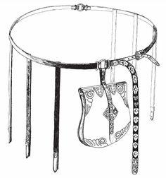 Shestovitsa belt reconstruction Barow 42