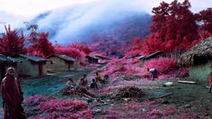 Photographer Highlights Conflict In The Congo With Stunning Infrared Film - DesignTAXI.com