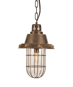 Look what I found on #zulily! Copper Retro Pendant Light #zulilyfinds