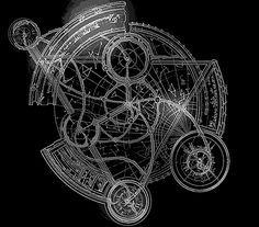 magic circle tattoo - Google Search