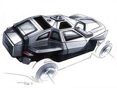 FLYPMODE Concept Design Sketch