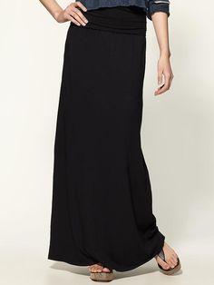 everyone needs a black maxi skirt, Splendid does it best