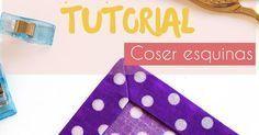 A la hora de coser manteles, pañuelos, sábanas y este tipo de creaciones, será fundamental saber coser las esquinas. ¡Así es cómo se hace!