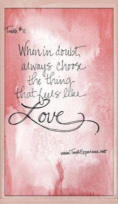 Love endures in Pink