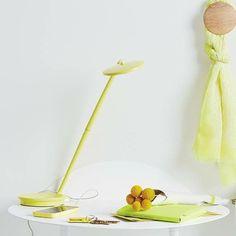 Pixo, lámpara que puede rotarse 360º,además de tener un diseño sencillo y una variedad de colores. A la venta en GMD.