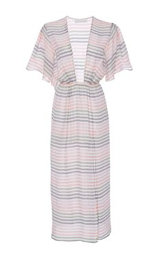 Ruffle Sleeve Dress  by FLEUR DU MAL for Preorder on Moda Operandi