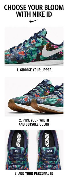 new product 9ff11 7b47d CHOOSE YOUR BLOOM  The Nike Air Zoom Pegasus 33 Womens Running shoe is  now
