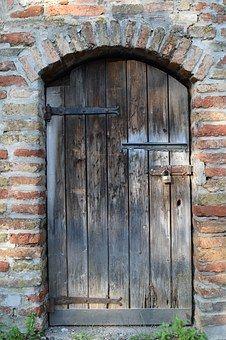 Door, Wooden Door, Wood, Input, Old