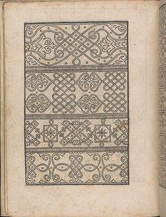 New Modelbüch allen Nägerin u. Sydenstickern (Page 12v). Hans Hoffmann. 1556.