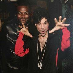 Working that ol' Prince magic!