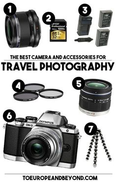 A good camera does not a good photographer make. You need talent and curiosity, of course, but also and perhaps most importantly, you need the right gear. Having the world's best camera won't matter if you don't know how to use it to its full potential. http://toeuropeandbeyond.com/essential-travel-photography-accessories/ #travel #photography