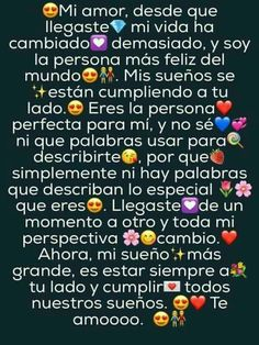 Spanish Quotes Love, Cute Love Quotes, Romantic Love Quotes, Love Phrases, Love Words, Sad Love, Love You, Love Paragraph, Paragraphs For Him