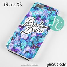 Panic at the Disco with Flower Background Phone case for iPhone 4/4s/5/5c/5s/6/6 plus