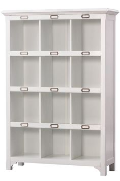 "William 12-Cube Organizer - Storage Shelves | 58.75""H x 41.25""W x 14""D.  