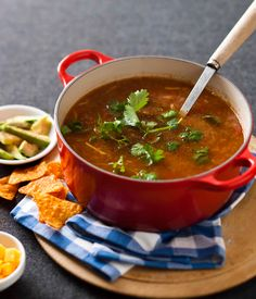 Looking for a quick dinner or a delicious dessert? Search through our vast range of Pick n Pay recipes and get cooking like a pro. Mexican Food Recipes, Soup Recipes, Ethnic Recipes, Mexican Bean Soup, Bulk Cooking, College Cooking, Large Group Meals, Feeding A Crowd, Food For A Crowd