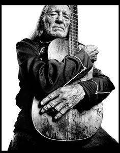 I've included this picture because Willie Nelson is a great example of country music at it's best. If a band of country music were to look for inspiration, Willie Nelson would be a great icon to look up at. Willie Nelson, Music Is Life, My Music, Music Books, Gospel Music, Jimi Hendricks, Blues, Music Icon, Famous Faces