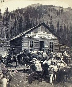 This 1895 photo from Lake City shows it to be more of a mining town than my fictional Lockton, CO. But the setting looks about right.