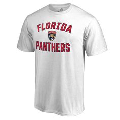 Florida Panthers Victory Arch T-Shirt - White