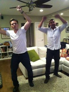 Seamus Dever and Jon Huertas.....BFF's n real life! They're awesome!