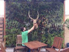Muro Vegetal, Rodolfo posando para la pic!