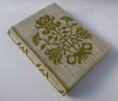 Cross Stitch A6 Journal & Cover - Bouquet of Flowers | Felt