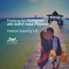 Your Daily Travel Thoughts & Hugot Tagalog Love Quotes, Tagalog Quotes, Sad Quotes, Filipino Pick Up Lines, Funny Hugot, Nasa, Filipino Funny, Hugot Quotes, Mahal Kita
