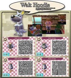 Walt Hoodie - QR Code by YookeyYook