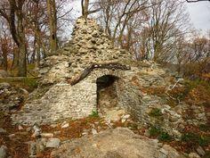 Čierny hrad - pohorie Tribeč