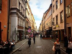 I've been staying with an awesome friend in #Stockholm in a little area known as #gamlestan . #wanderlust #milesaway #travelbug #travellife