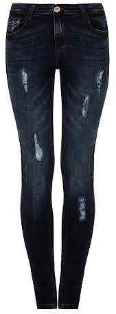 Womens navy jean from Dorothy Perkins - £26.99 at ClothingByColour.com