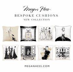 Megan Hess Cushions