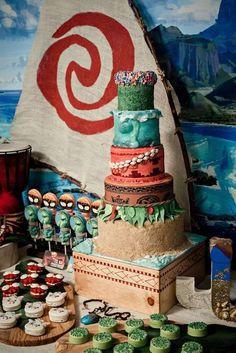 Moana Birthday Party Ideas | Photo 1 of 22