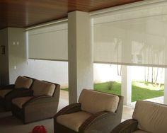 GABÍN - Persianas y Toldería fina Blinds, New Homes, Exterior, Curtains, House Renovations, Ely, Color, Decor Ideas, Home Decor